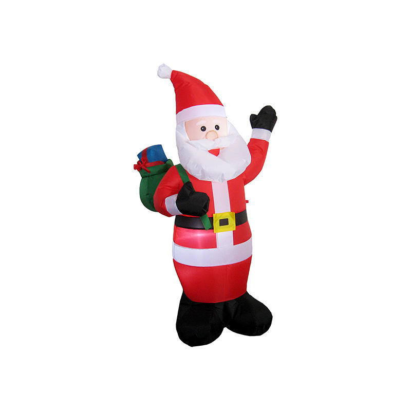 Holiday Christmas inflatable Santa carrying gift bags FL20QS-182