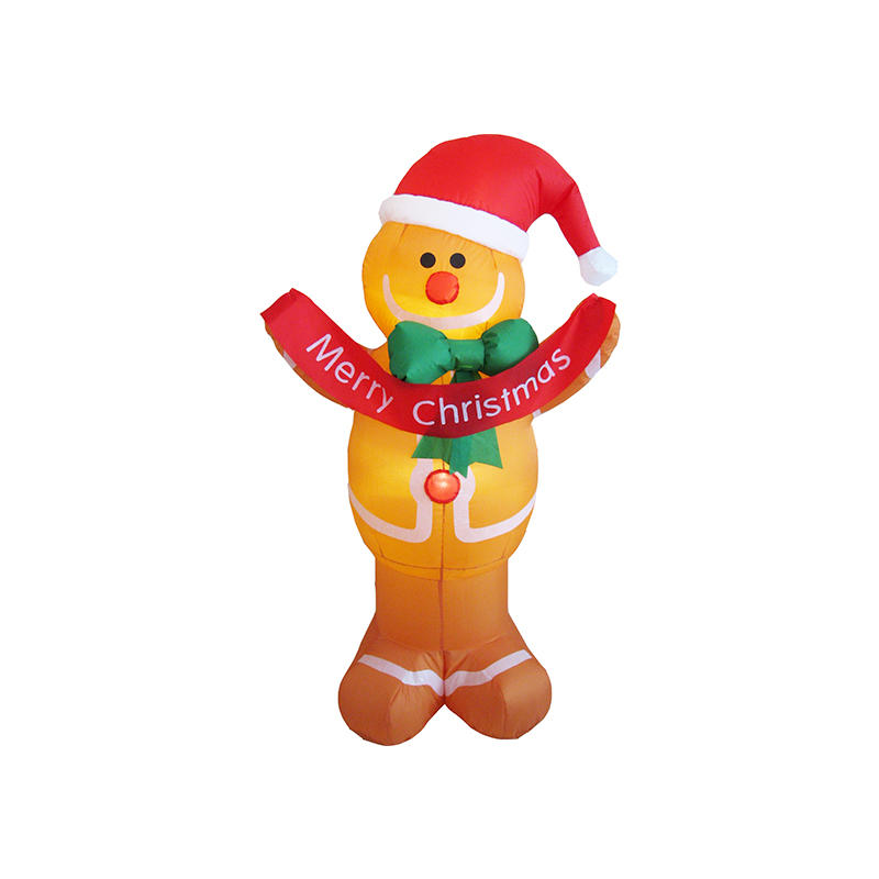 Merry Christmas inflatable Gingerbread man decoration FL19QQ-74