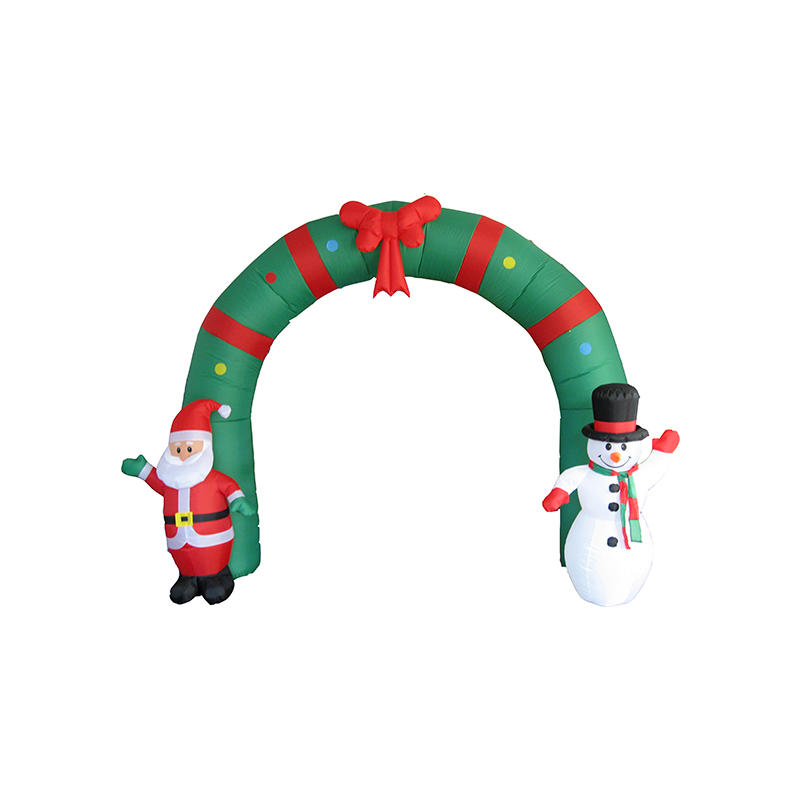 High quality party outdoor decoration christmas inflatable arch YL3008QS-83